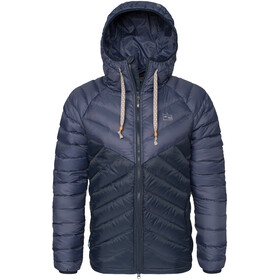 Varg Älgön Downhood Anorak Men blue mix